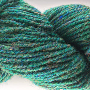 Green Heather - Briggs and Little 2 Ply Worsted Yarn for Rug Hooking