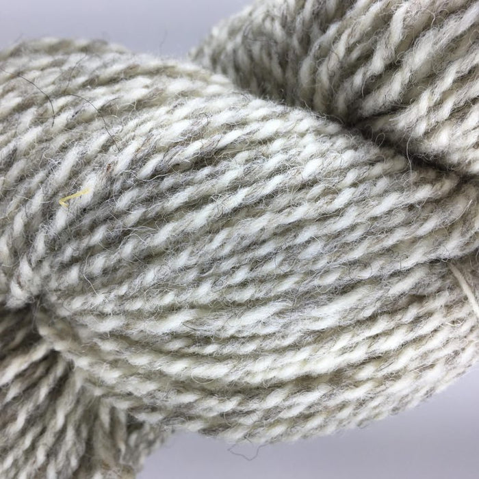 RAGG White/Grey - Briggs and Little 2 Ply Worsted Yarn for Rug Hooking