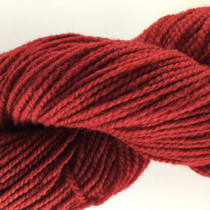 Red - Briggs and Little 2 Ply Worsted Yarn for Rug Hooking