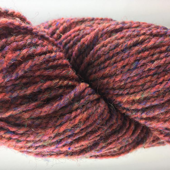 Red Heather - Briggs and Little 2 Ply Worsted Yarn for Rug Hooking