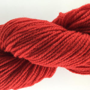Scarlet - Briggs and Little 2 Ply Worsted Yarn for Rug Hooking