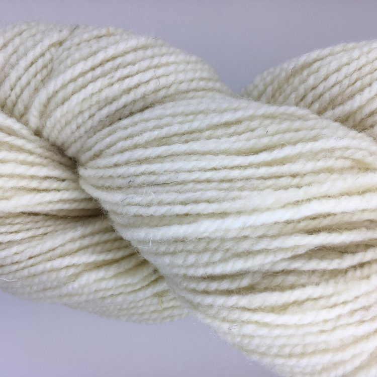 Washed White - Briggs and Little 2 Ply Worsted Yarn for Rug Hooking