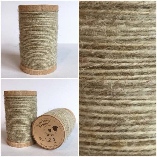 120 Rustic Moire Wool Thread