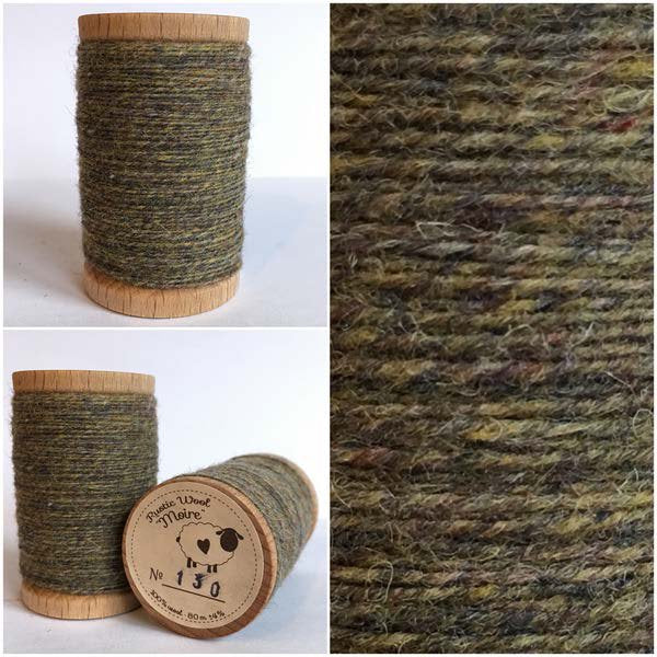 130 Rustic Moire Wool Thread - DISCONTINUED