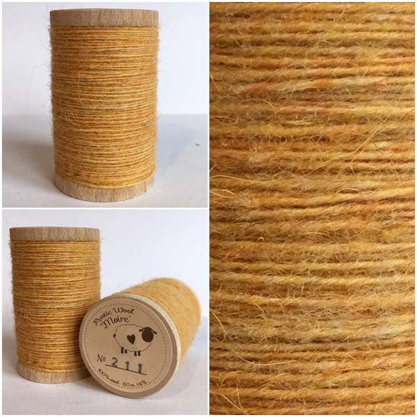 211 Rustic Moire Wool Thread