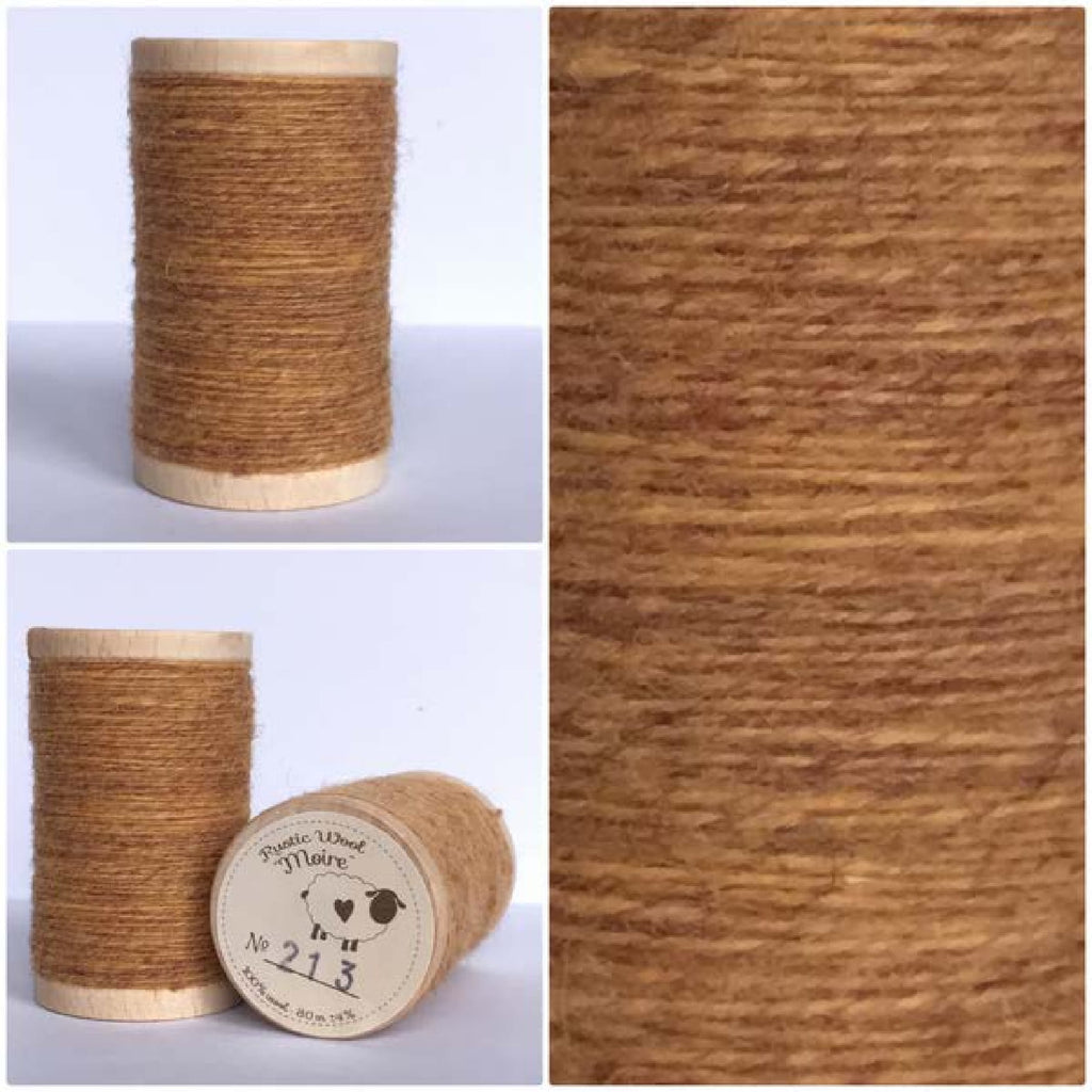 213 Rustic Moire Wool Thread