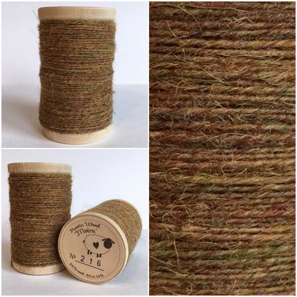 216 Rustic Moire Wool Thread