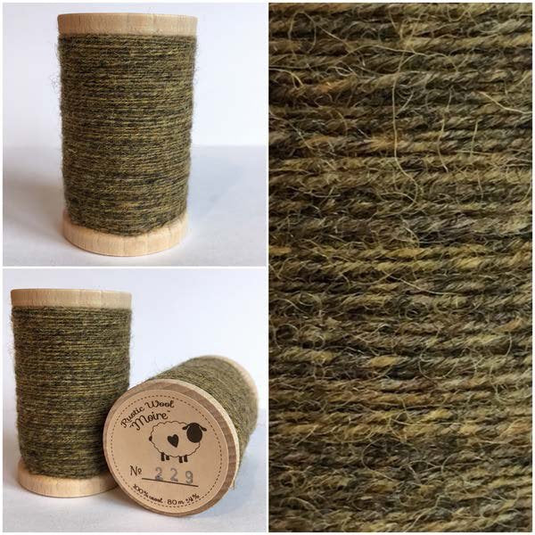 229 Rustic Moire Wool Thread