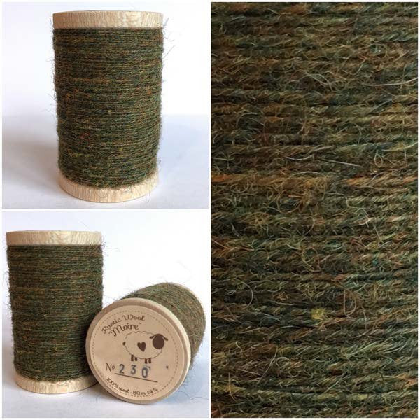 230 Rustic Moire Wool Thread