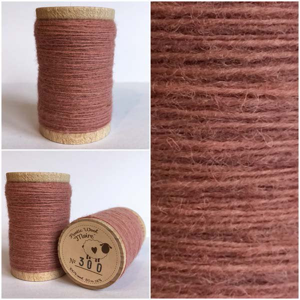 300 Rustic Moire Wool Thread