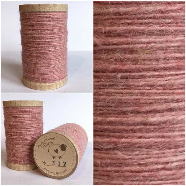 307 Rustic Moire Wool Thread