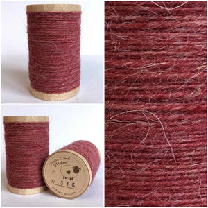 316 Rustic Moire Wool Thread