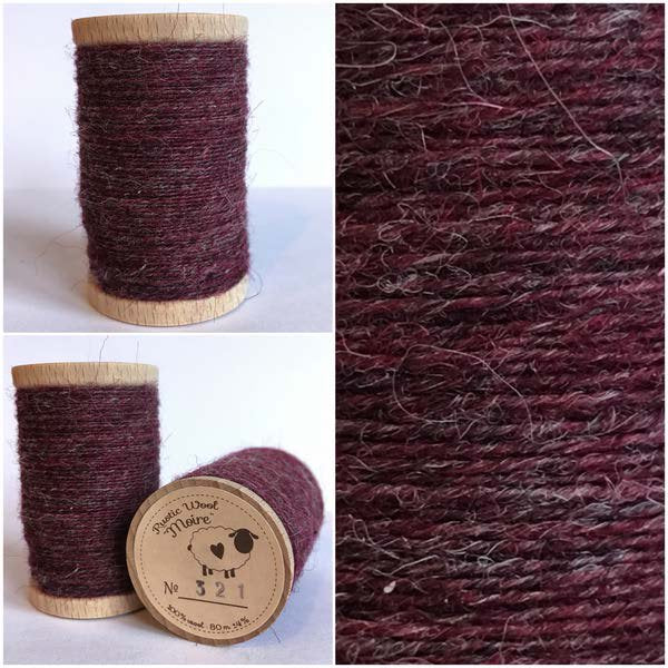 321 Rustic Moire Wool Thread