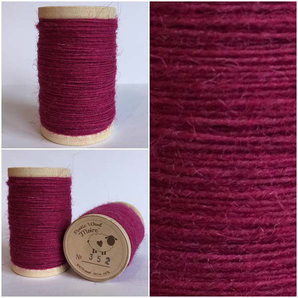 352 Rustic Moire Wool Thread