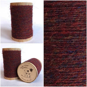 386 Rustic Moire Wool Thread