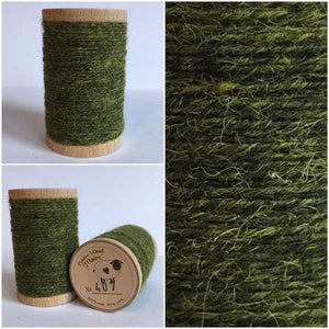407 Rustic Moire Wool Thread