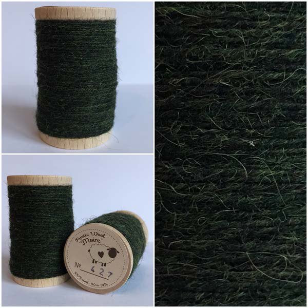 427 Rustic Moire Wool Thread