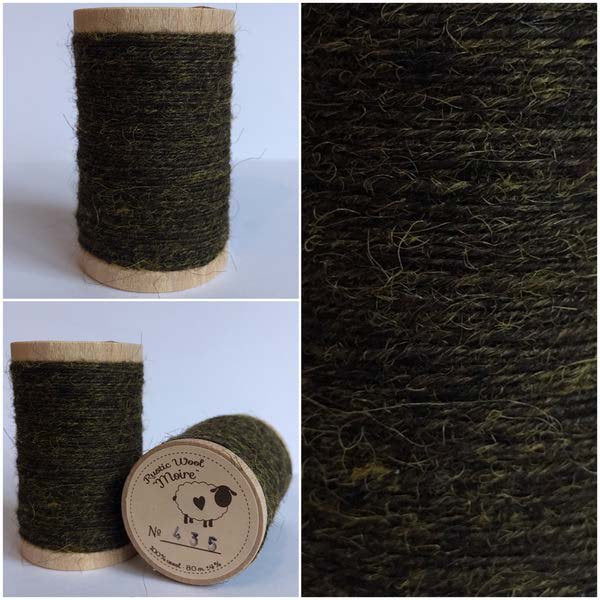 435 Rustic Moire Wool Thread