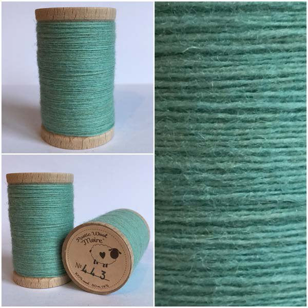 443 Rustic Moire Wool Thread