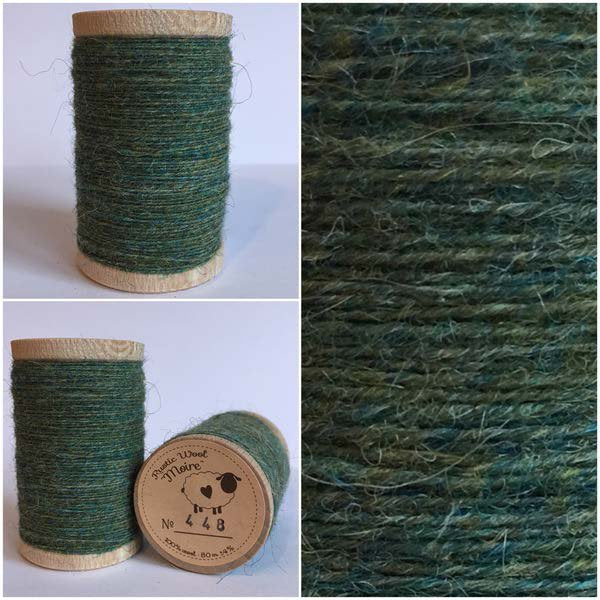 448 Rustic Moire Wool Thread
