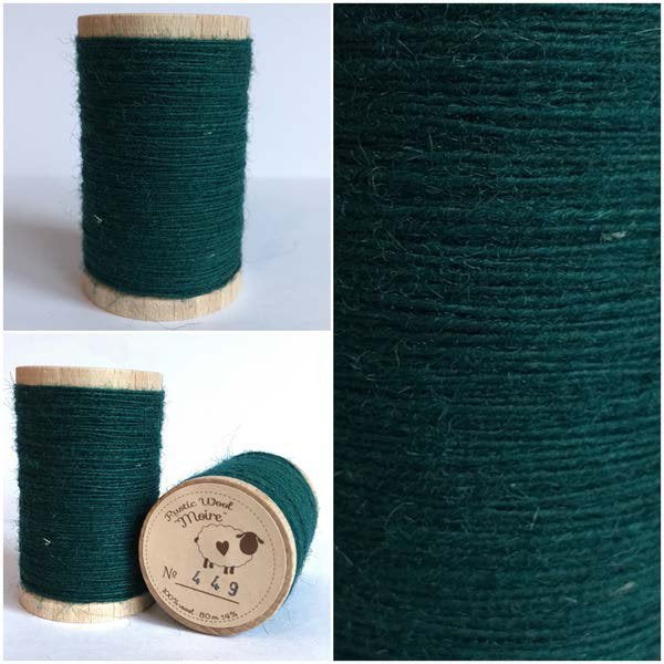 449 Rustic Moire Wool Thread