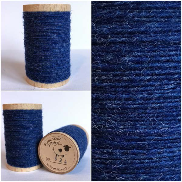 524 Rustic Moire Wool Thread