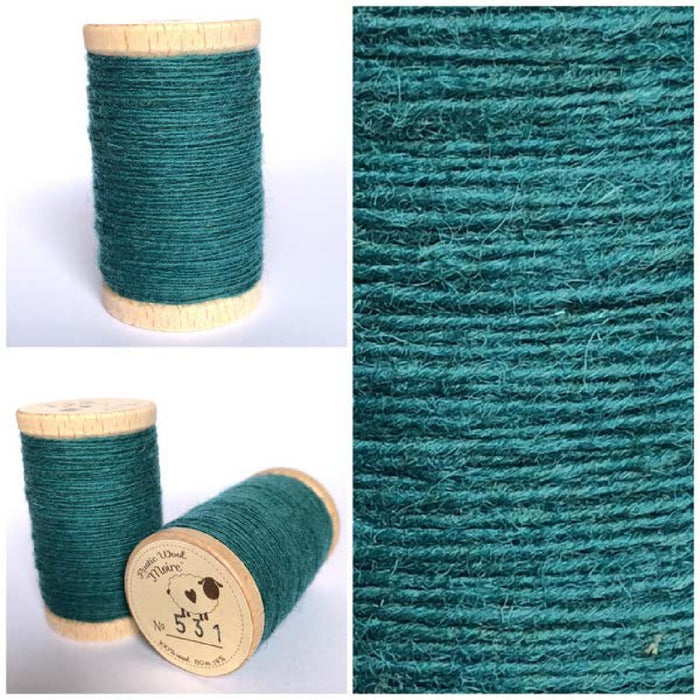 531 Rustic Moire Wool Thread