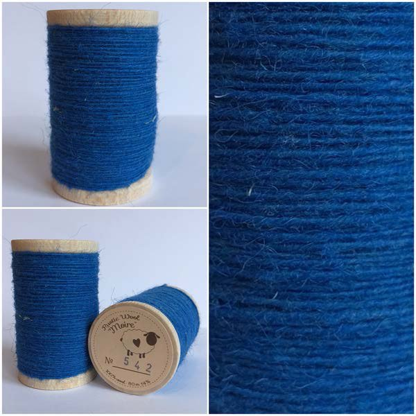542 Rustic Moire Wool Thread