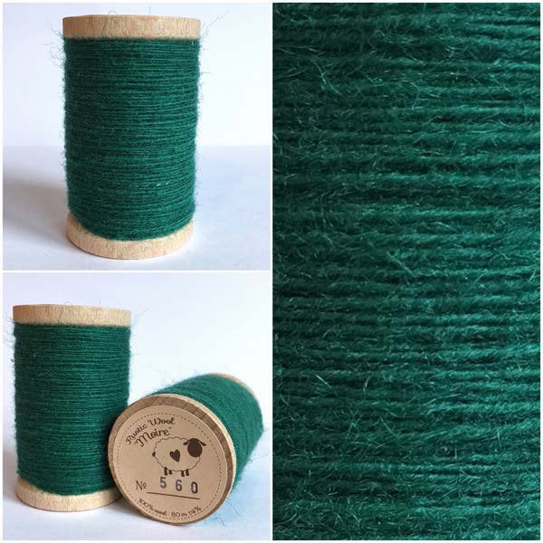 560 Rustic Moire Wool Thread