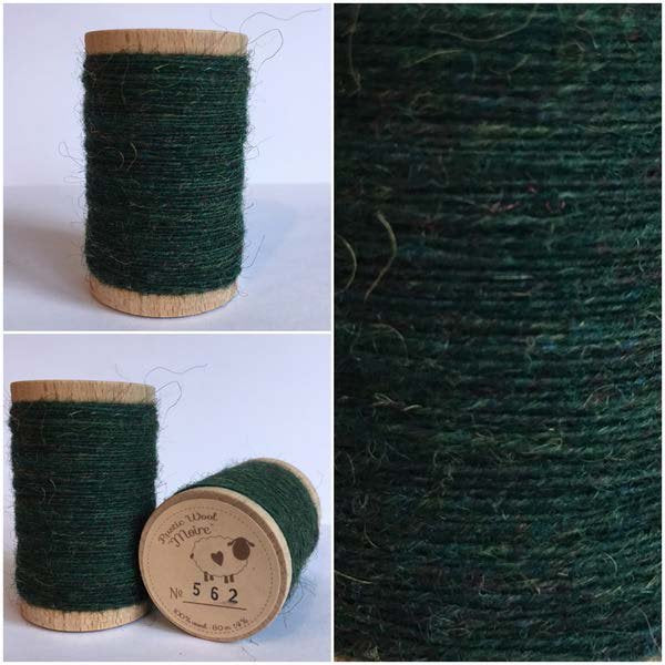 562 Rustic Moire Wool Thread
