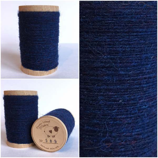 589 Rustic Moire Wool Thread