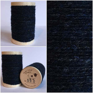 590 Rustic Moire Wool Thread