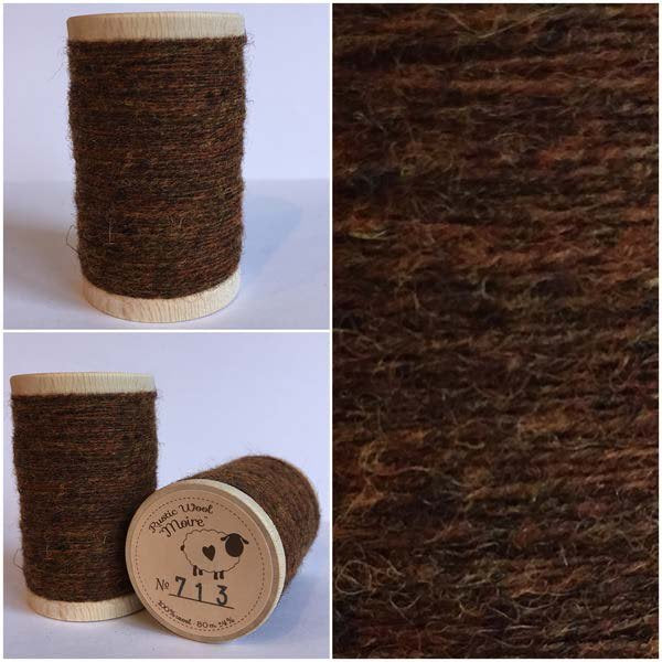 713 Rustic Moire Wool Thread