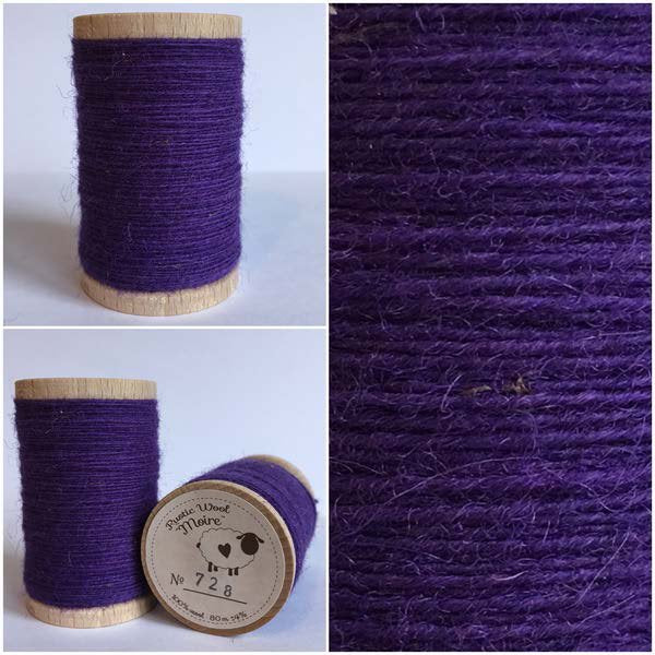 728 Rustic Moire Wool Thread