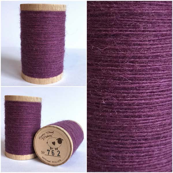 762 Rustic Moire Wool Thread