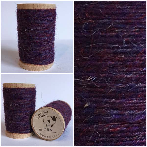 764 Rustic Moire Wool Thread
