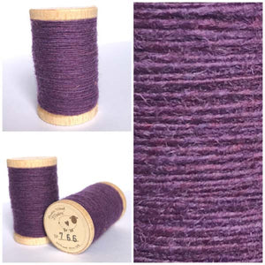 766 Rustic Moire Wool Thread