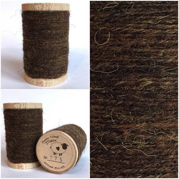 775 Rustic Moire Wool Thread