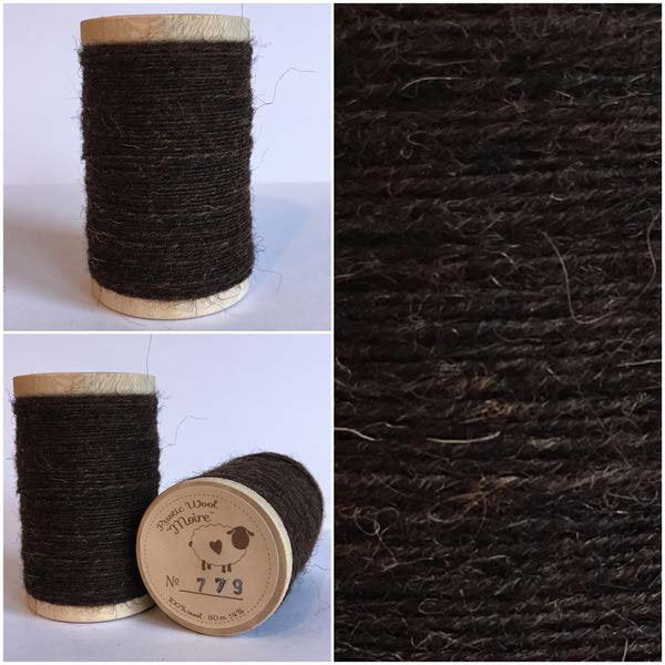 779 Rustic Moire Wool Thread