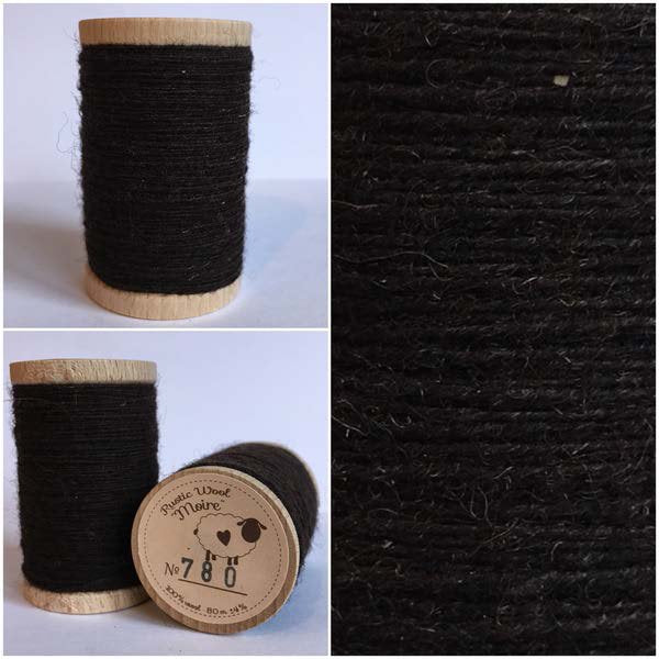 780 Rustic Moire Wool Thread