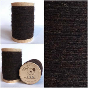 793 Rustic Moire Wool Thread