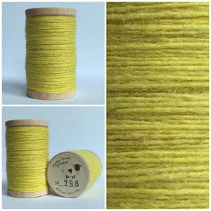 798 Rustic Moire Wool Thread