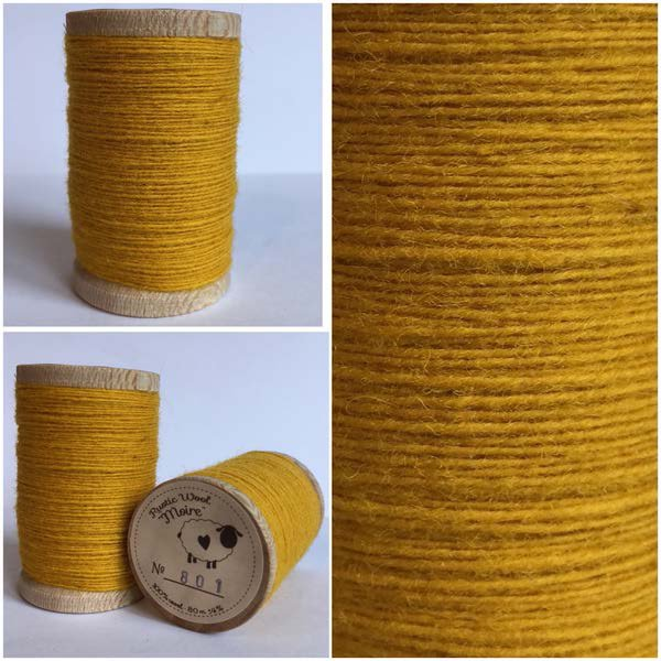 801 Rustic Moire Wool Thread