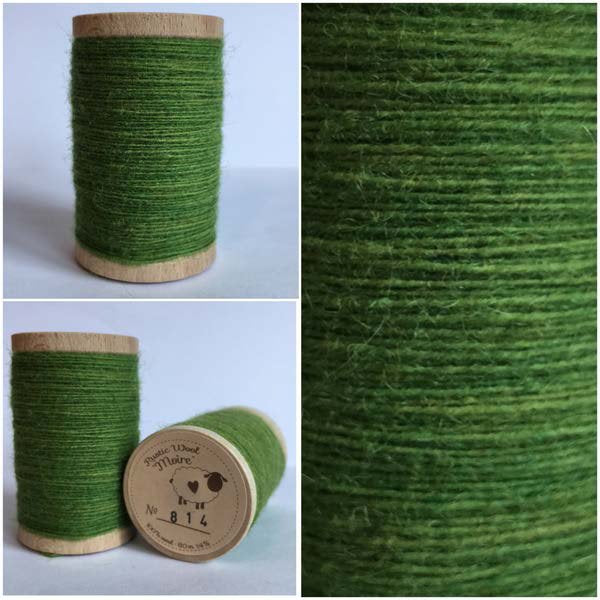 814 Rustic Moire Wool Thread