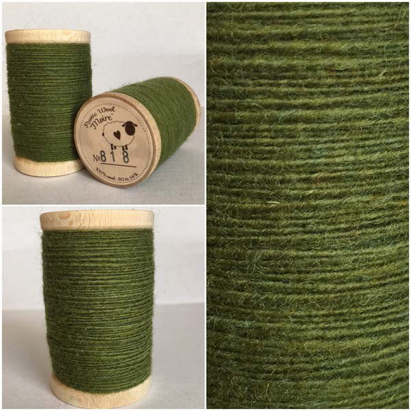 818 Rustic Moire Wool Thread