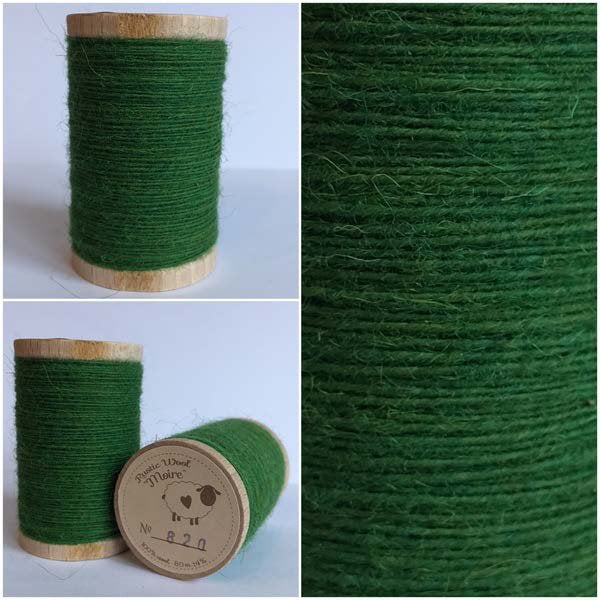 820 Rustic Moire Wool Thread