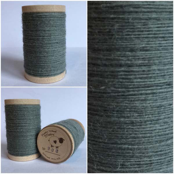 900 Rustic Moire Wool Thread