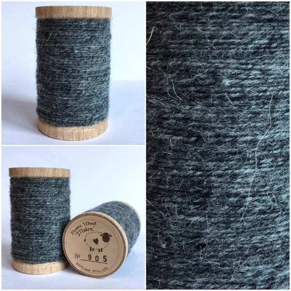905 Rustic Moire Wool Thread