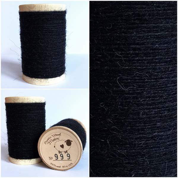 999 Rustic Moire Wool Thread