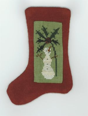 Under the Mistletoe - Cross Stitch Pattern for Christmas Stuffie
